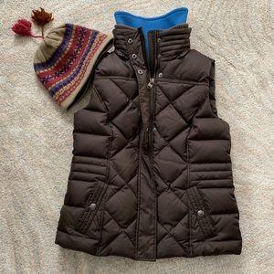 Esprit Quilted Down Vest Size 8